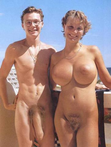 Found these three nudist beach photos. I'm assuming they are undoctored ...